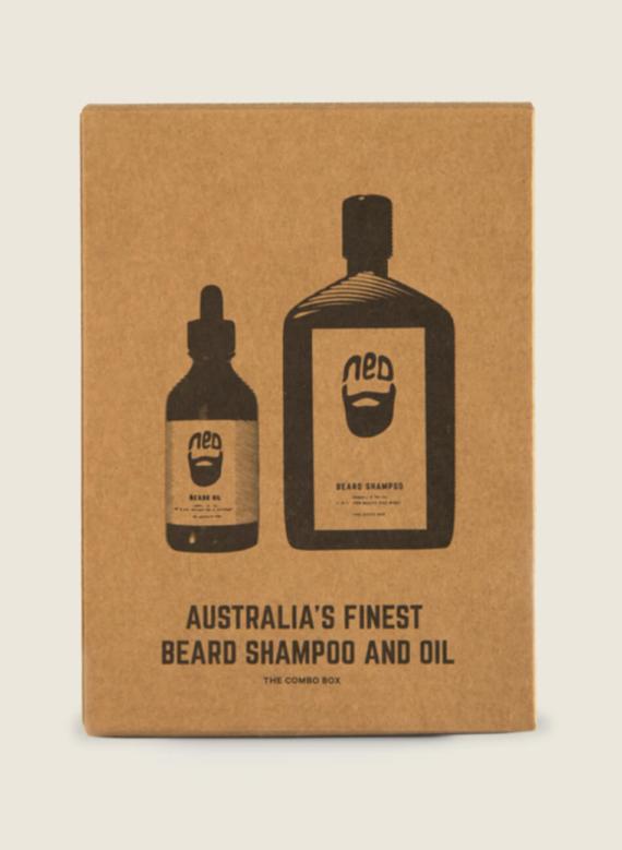 Ned beard shampoo beard conditioner - moustache shampoo - NED beard oil - best beard oil australia