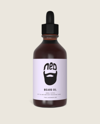 men's styling - the original beard oil from ned - lavender beard oil for men -