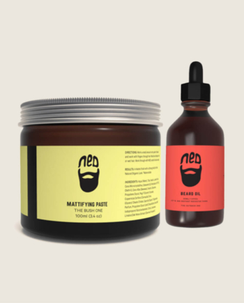 What The Heck Is Beard Oil, And How Does It Work - ned beard oil and mattifying paste australia