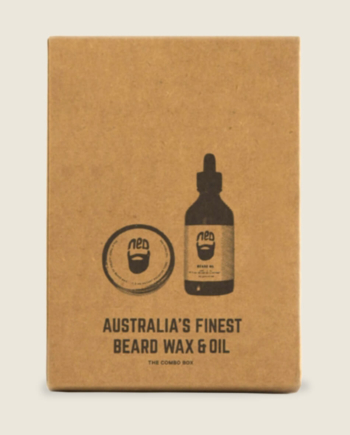 best beard wax australia -duo beard wax and oil pack - best beard oil australia - men's styling products