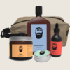 NED men's washbag - NED grooming products - NED men's wax - men's beard oil -men's grooming travel pack australia