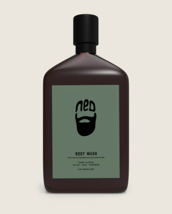 the spring one - men's body wash - men's grooming - ned body wash